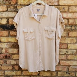 Aerie Button Up